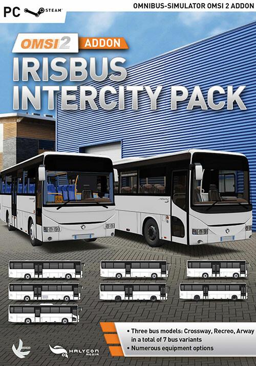 OMSI 2 Add-on Irisbus Intercity Pack - Cover / Packshot