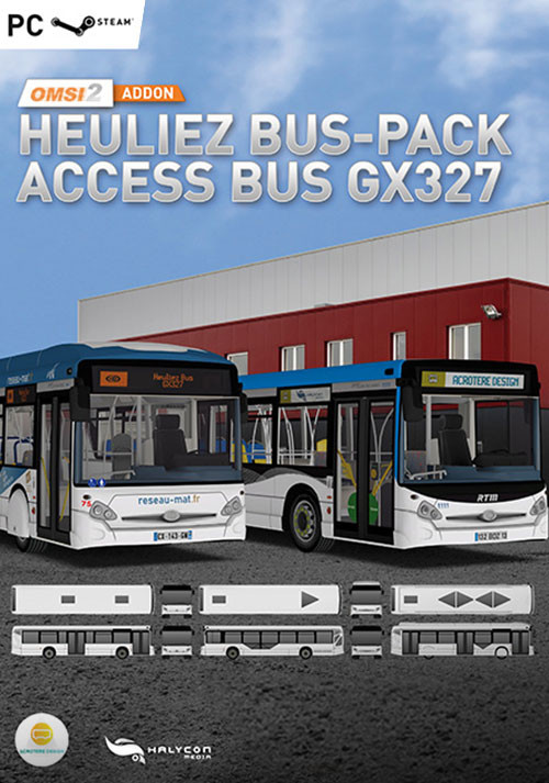 OMSI 2 Add-on Heuliez Bus-Pack Access Bus GX327 - Cover / Packshot