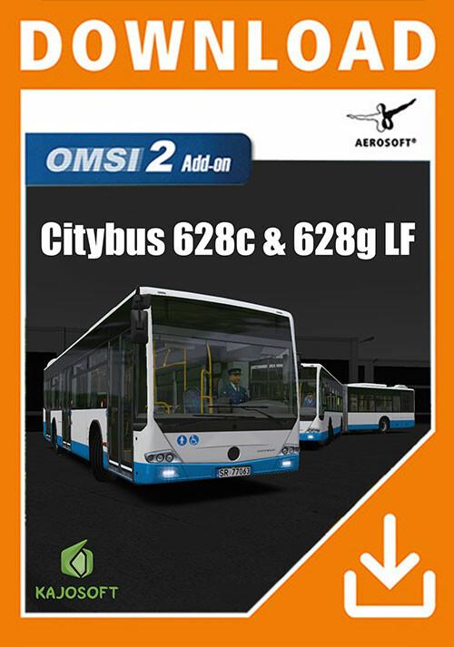 OMSI 2 Add-on Citybus 628c & 628g LF - Cover / Packshot