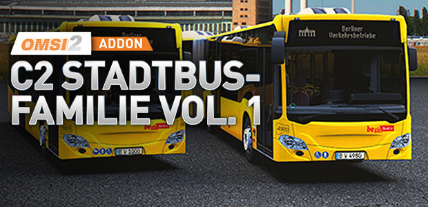 OMSI 2 Add-On C2-Stadtbus-Familie Vol. 1 - Cover / Packshot
