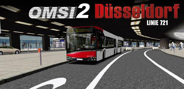 OMSI 2 Add-on Düsseldorf - Linie 721 - Cover / Packshot