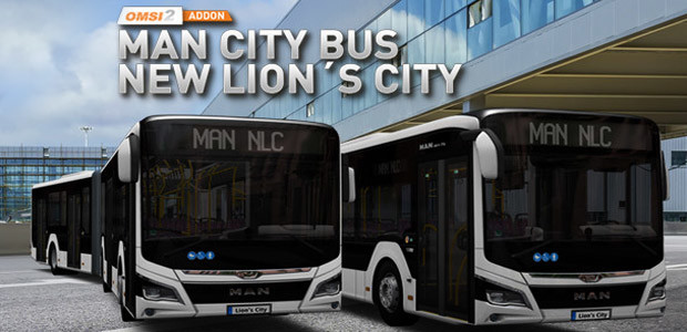 OMSI 2 Add-on MAN Stadtbus New Lion's City - Cover / Packshot