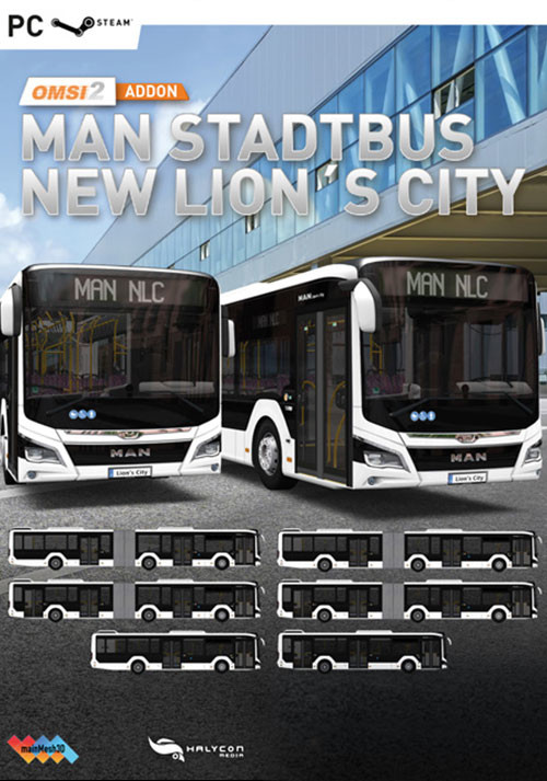 OMSI 2 Add-on MAN City Bus New Lion's City - Cover / Packshot