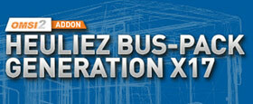 OMSI 2 Add-On Heuliez Bus-Pack Generation X17