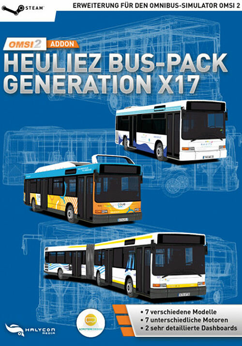 OMSI 2 Add-On Heuliez Bus-Pack Generation X17 - Cover / Packshot