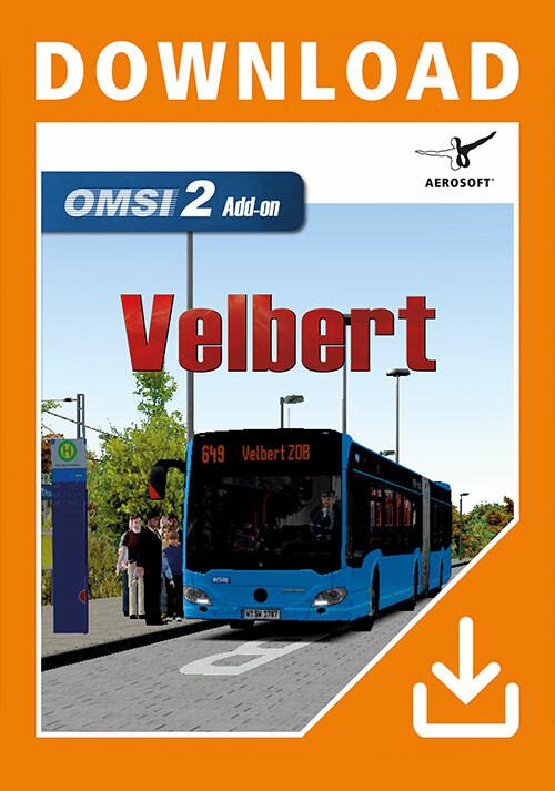 OMSI 2 Add-On Velbert - Cover / Packshot