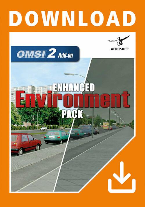 OMSI 2 Add-on Enhanced Environment Pack - Cover / Packshot