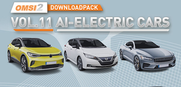 OMSI 2 Add-on Downloadpack Vol. 11 - AI-Electric Cars