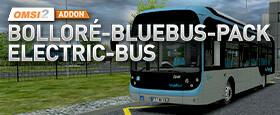 OMSI 2 Add-On Bolloré-Bluebus-Pack Elektro-Bus