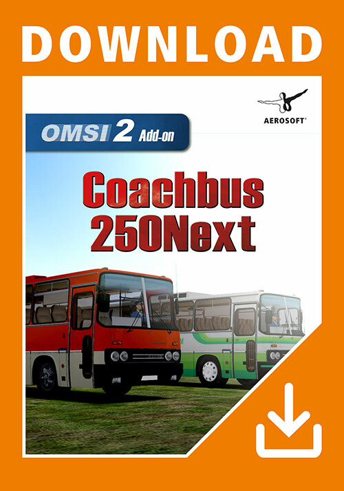 OMSI 2 Add-On Coachbus 250Next - Cover / Packshot