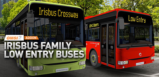 OMSI 2 - Add-on Irisbus Familie – Low-Entry-Busse
