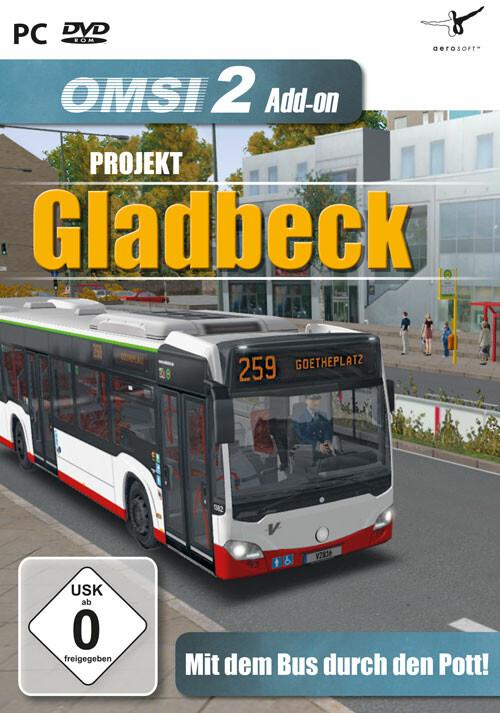 OMSI 2 Add-on Projekt Gladbeck - Cover / Packshot
