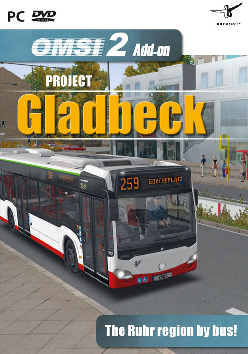 OMSI 2 Add-on Project Gladbeck - Cover / Packshot