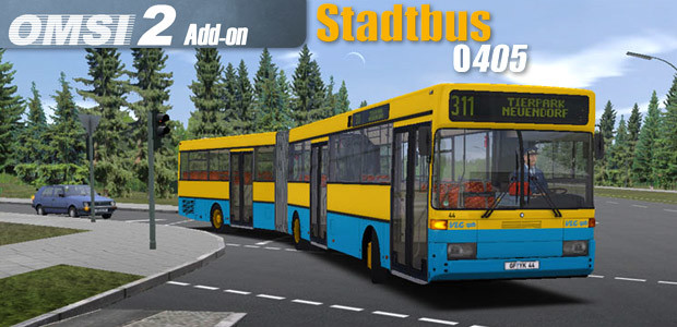 OMSI 2 Add-on Stadtbus O405 - Cover / Packshot