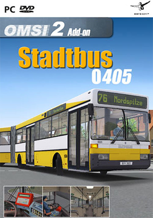 OMSI 2 Add-on Citybus O405 - Cover / Packshot