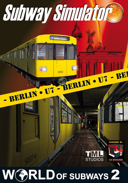World of Subways 2 – Berlin Line 7 - Cover / Packshot