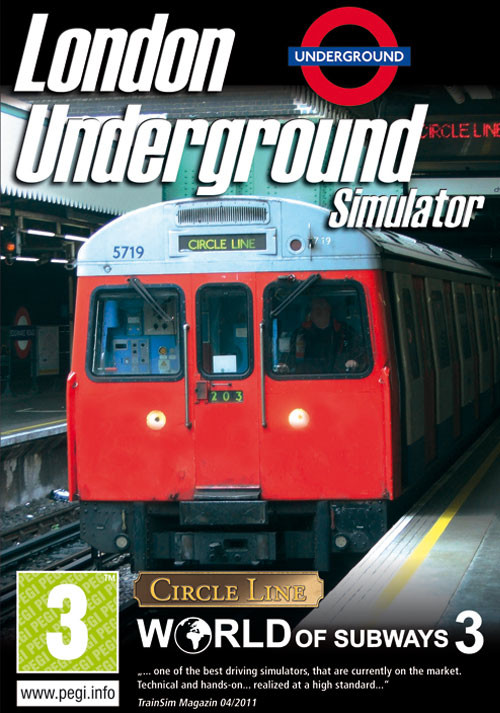World of Subways 3 – London Underground Circle Line - Cover / Packshot