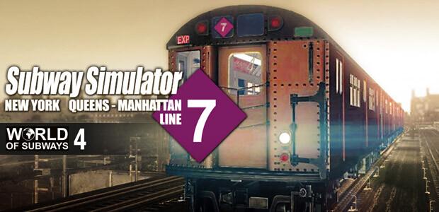 World of Subways 4 – New York Line 7 - Cover / Packshot