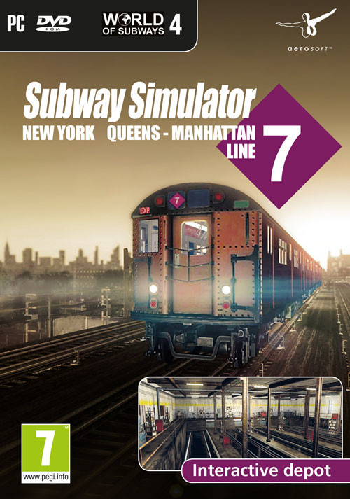 World of Subways 4 – New York Line 7 - Cover / Packshot