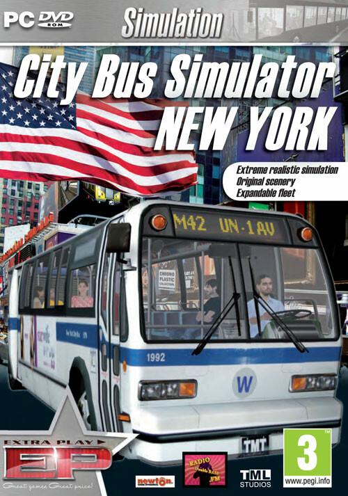 Citybus Simulator New York - Cover