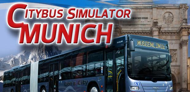 Citybus Simulator Munich - Cover / Packshot