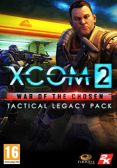 XCOM 2: War of the Chosen - Tactical Legacy Pack - Cover / Packshot
