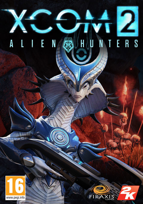 XCOM 2 - Alien Hunters - Cover / Packshot