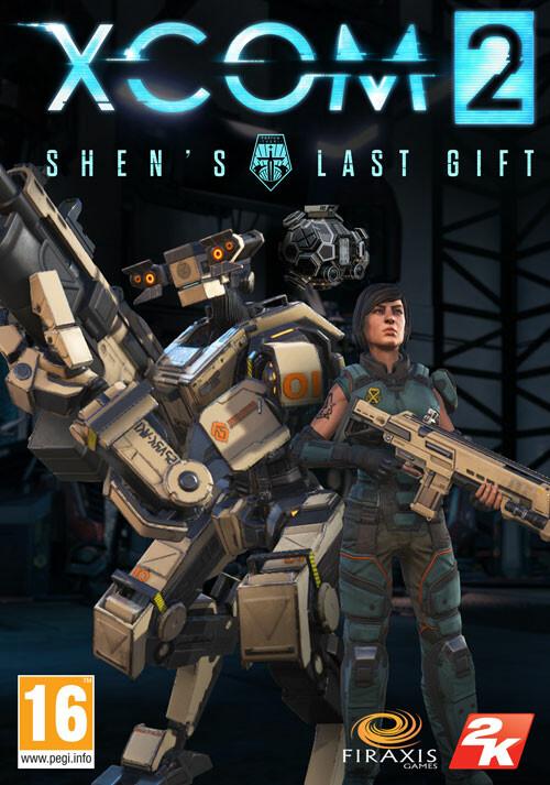 XCOM 2 - Shen's Last Gift - Cover