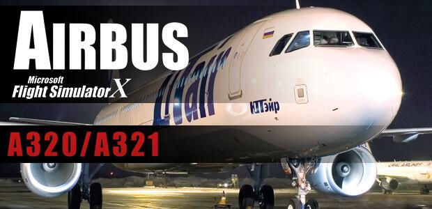 Microsoft Flight Simulator X: Airbus A320/A321 - Cover / Packshot