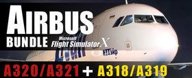 Microsoft Flight Simulator X: Airbus Bundle