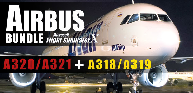 Microsoft Flight Simulator X: Airbus Bundle - Cover / Packshot