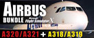 Microsoft Flight Simulator X: Airbus Bundle