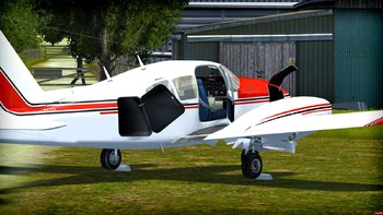 Screenshot1 - Microsoft Flight Simulator X: Steam Edition - Piper Aztec Add-On