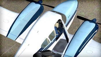 Screenshot3 - Microsoft Flight Simulator X: Steam Edition - Piper Aztec Add-On