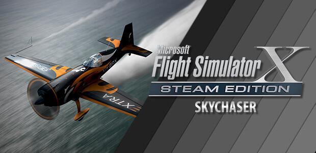 Microsoft Flight Simulator X: Steam Edition: Skychaser Add-On - Cover / Packshot