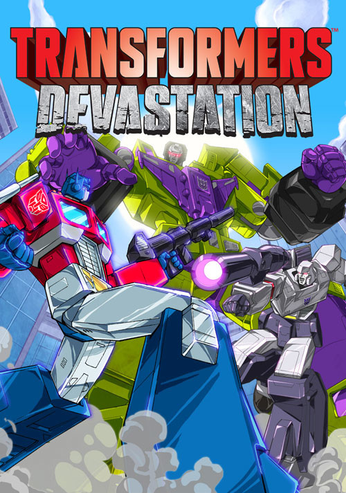 TRANSFORMERS: Devastation - Packshot