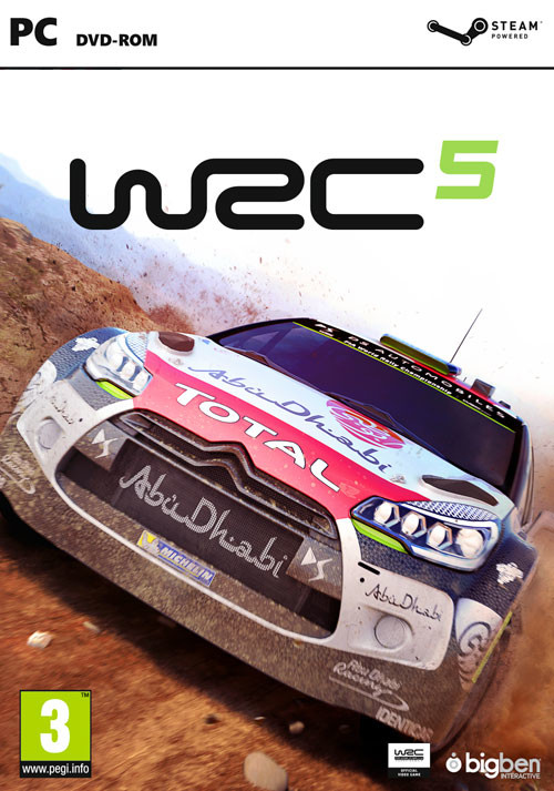 WRC 5 FIA World Rally Championship - Cover / Packshot