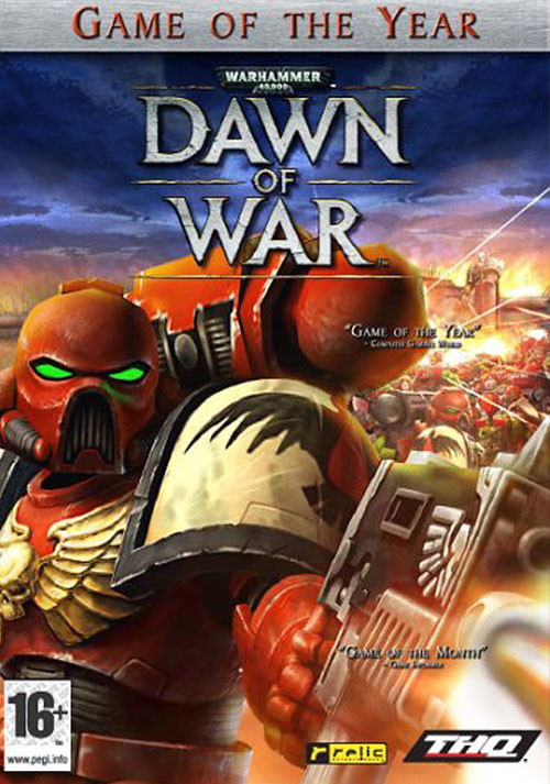 Warhammer 40,000: Dawn of War - Game of the Year Edition - Cover / Packshot