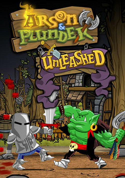 Arson and Plunder: Unleashed - Cover / Packshot