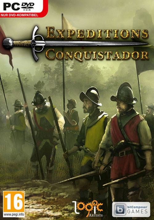 Expeditions: Conquistador - Cover / Packshot