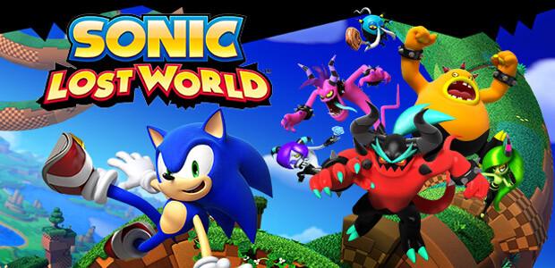 Sonic Lost World - Cover / Packshot