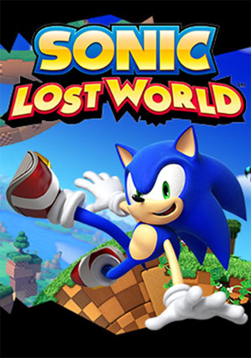 Sonic Lost World - Cover / Packshot