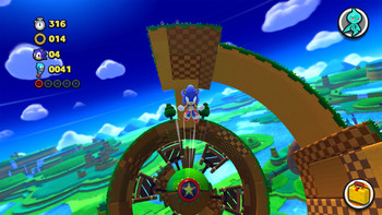 Screenshot1 - Sonic Lost World