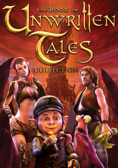The Book of Unwritten Tales Collection - Cover / Packshot