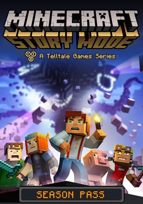 Minecraft: Story Mode - A Telltale Games Series - Cover