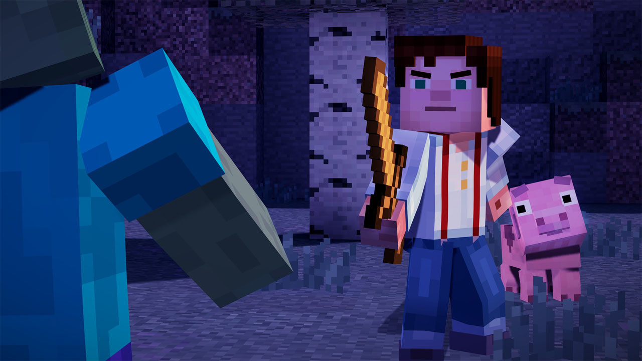 Minecraft Story Mode A Telltale Games Series Game Download For - Minecraft spielen pc download