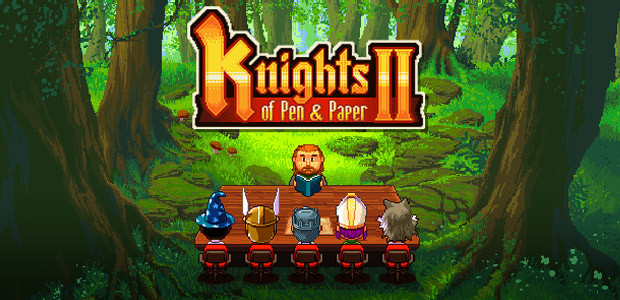Knights of Pen & Paper 2 - Cover / Packshot