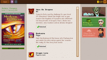 Screenshot8 - Knights of Pen and Paper 2 - Deluxiest Edition
