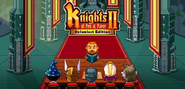 Knights of Pen and Paper 2 - Deluxiest Edition - Cover / Packshot