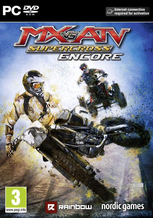 MX vs. ATV Supercross Encore - Cover / Packshot